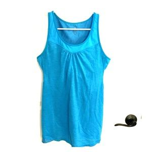 Athleta supercharged support tank blue M